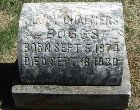 CHALMERS BOGGS, LUCY - Benton County, Arkansas | LUCY CHALMERS BOGGS - Arkansas Gravestone Photos
