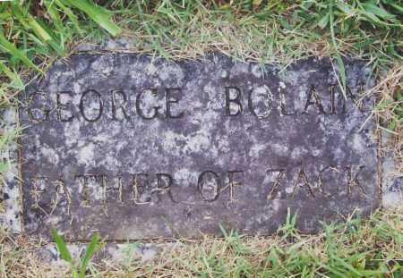 BOLAIN, GEORGE - Benton County, Arkansas | GEORGE BOLAIN - Arkansas Gravestone Photos