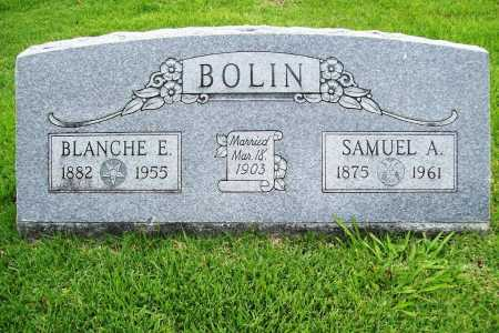BOLIN, BLANCHE E. - Benton County, Arkansas | BLANCHE E. BOLIN - Arkansas Gravestone Photos