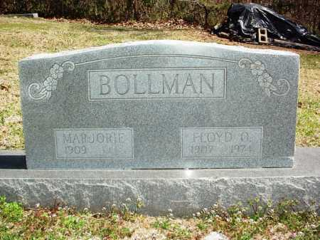 BOLLMAN, FLOYD O. - Benton County, Arkansas | FLOYD O. BOLLMAN - Arkansas Gravestone Photos