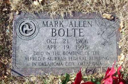 BOLTE (PUBLIC SERVANT), MARK ALLEN - Benton County, Arkansas   MARK ALLEN BOLTE (PUBLIC SERVANT) - Arkansas Gravestone Photos