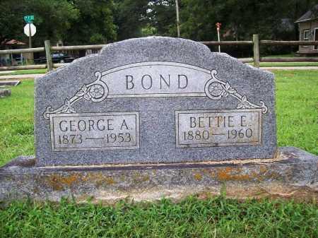 BOND, BETTIE E. - Benton County, Arkansas | BETTIE E. BOND - Arkansas Gravestone Photos