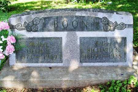 BOON, RICHARD C. - Benton County, Arkansas | RICHARD C. BOON - Arkansas Gravestone Photos