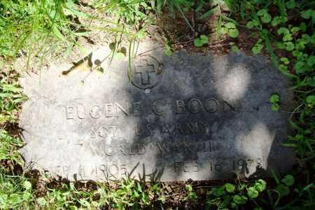 BOON (VETERAN WWII), EUGENE C. - Benton County, Arkansas | EUGENE C. BOON (VETERAN WWII) - Arkansas Gravestone Photos
