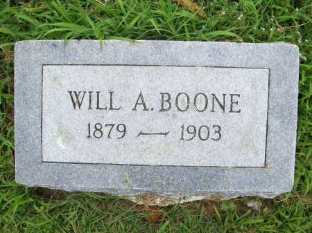 BOONE, WILL A. - Benton County, Arkansas | WILL A. BOONE - Arkansas Gravestone Photos