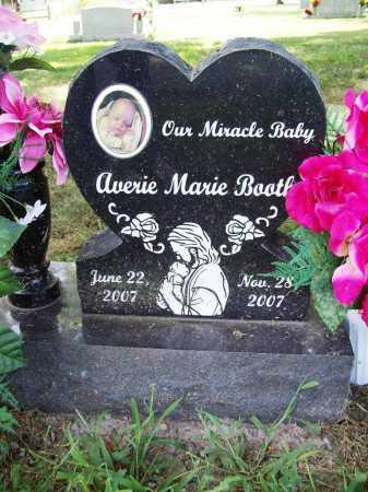 BOOTH, AVERIE MARIE - Benton County, Arkansas | AVERIE MARIE BOOTH - Arkansas Gravestone Photos