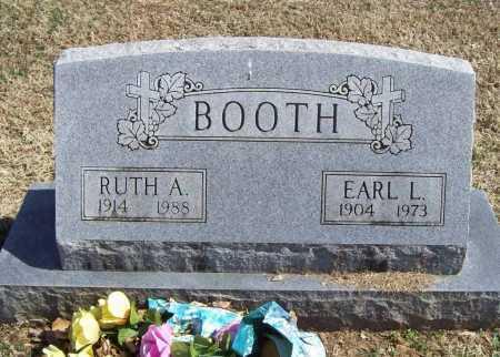 BOOTH, EARL LEE - Benton County, Arkansas | EARL LEE BOOTH - Arkansas Gravestone Photos