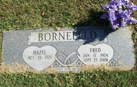 BORNEFELD, FREDERICK A. - Benton County, Arkansas | FREDERICK A. BORNEFELD - Arkansas Gravestone Photos