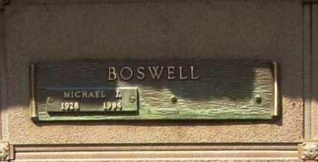 BOSWELL, MICHAEL J. - Benton County, Arkansas | MICHAEL J. BOSWELL - Arkansas Gravestone Photos