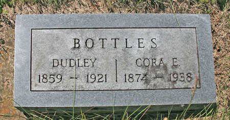 BOTTLES, CORA E - Benton County, Arkansas | CORA E BOTTLES - Arkansas Gravestone Photos