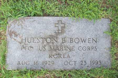 BOWEN (VETERAN KOR), HUESTON B. - Benton County, Arkansas   HUESTON B. BOWEN (VETERAN KOR) - Arkansas Gravestone Photos