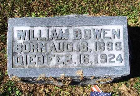 BOWEN, WILLIAM - Benton County, Arkansas | WILLIAM BOWEN - Arkansas Gravestone Photos