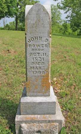 BOWER, JOHN D - Benton County, Arkansas   JOHN D BOWER - Arkansas Gravestone Photos