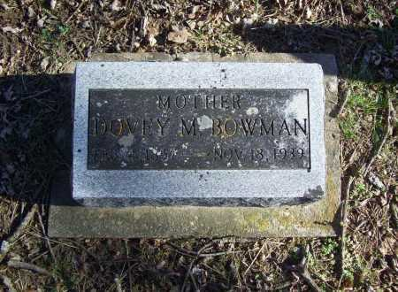 BOWMAN, DOVEY M. - Benton County, Arkansas | DOVEY M. BOWMAN - Arkansas Gravestone Photos