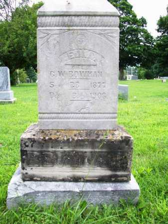 BOWMAN, EDNA - Benton County, Arkansas | EDNA BOWMAN - Arkansas Gravestone Photos