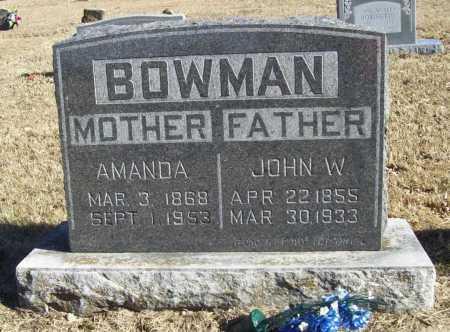 BOWMAN, AMANDA - Benton County, Arkansas   AMANDA BOWMAN - Arkansas Gravestone Photos