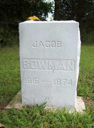 BOWMAN, JACOB - Benton County, Arkansas | JACOB BOWMAN - Arkansas Gravestone Photos