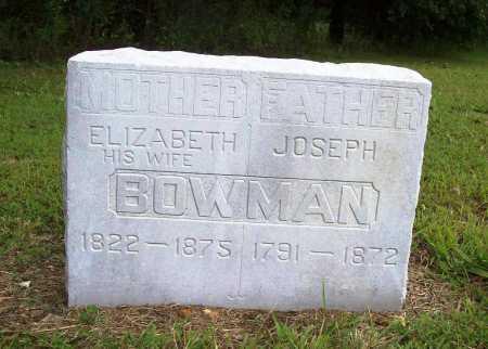 BOWMAN, JOSEPH - Benton County, Arkansas | JOSEPH BOWMAN - Arkansas Gravestone Photos