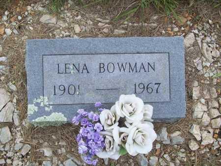 BOWMAN, LENA - Benton County, Arkansas   LENA BOWMAN - Arkansas Gravestone Photos
