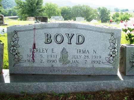 BOYD, BERLEY E. - Benton County, Arkansas | BERLEY E. BOYD - Arkansas Gravestone Photos