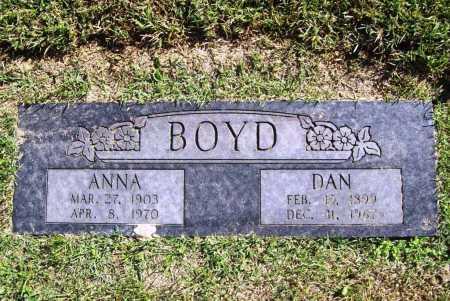 BOYD, ANNA - Benton County, Arkansas | ANNA BOYD - Arkansas Gravestone Photos