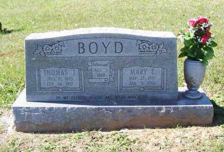 BOYD, MARY E. - Benton County, Arkansas | MARY E. BOYD - Arkansas Gravestone Photos