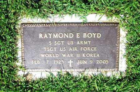 BOYD (VETERAN 2 WARS), RAYMOND E. - Benton County, Arkansas | RAYMOND E. BOYD (VETERAN 2 WARS) - Arkansas Gravestone Photos
