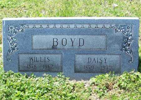 BOYD, WILLIS - Benton County, Arkansas   WILLIS BOYD - Arkansas Gravestone Photos