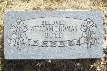 BOYD, WILLIAM THOMAS - Benton County, Arkansas | WILLIAM THOMAS BOYD - Arkansas Gravestone Photos