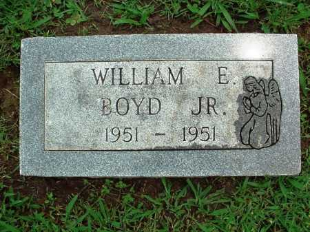 BOYD, WILLIAM E. JR. - Benton County, Arkansas   WILLIAM E. JR. BOYD - Arkansas Gravestone Photos