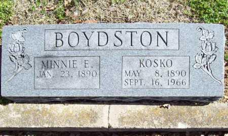 BOYDSTON, MINNIE ELLA - Benton County, Arkansas | MINNIE ELLA BOYDSTON - Arkansas Gravestone Photos