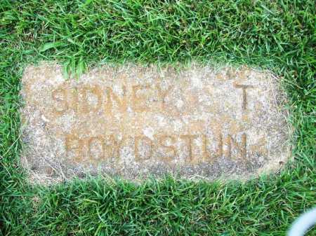 BOYDSTUN, SIDNEY T. - Benton County, Arkansas | SIDNEY T. BOYDSTUN - Arkansas Gravestone Photos