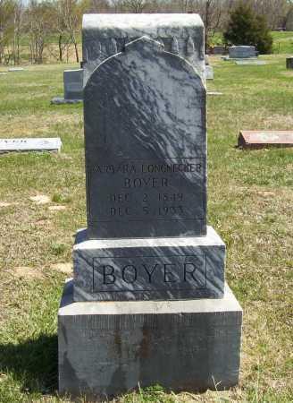 BOYER, BARBARA - Benton County, Arkansas | BARBARA BOYER - Arkansas Gravestone Photos