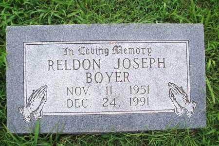 BOYER, RELDON JOSEPH - Benton County, Arkansas   RELDON JOSEPH BOYER - Arkansas Gravestone Photos