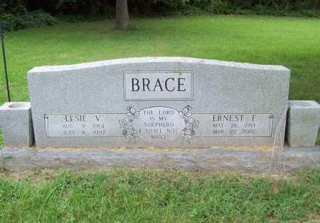 BRACE, ELSIE V. - Benton County, Arkansas | ELSIE V. BRACE - Arkansas Gravestone Photos