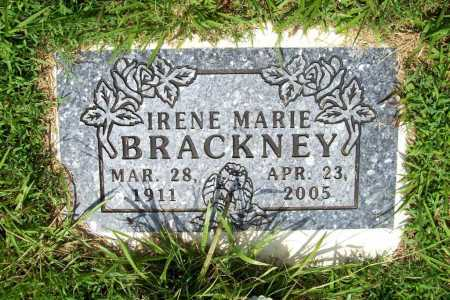 BRACKNEY, IRENE MARIE - Benton County, Arkansas | IRENE MARIE BRACKNEY - Arkansas Gravestone Photos