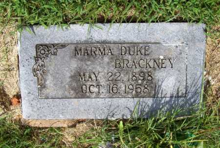 BRACKNEY, MARMA DUKE - Benton County, Arkansas | MARMA DUKE BRACKNEY - Arkansas Gravestone Photos