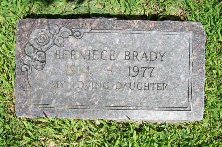 BRADY, BERNIECE - Benton County, Arkansas   BERNIECE BRADY - Arkansas Gravestone Photos