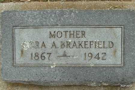 BRAKEFIELD, CORA A. - Benton County, Arkansas | CORA A. BRAKEFIELD - Arkansas Gravestone Photos