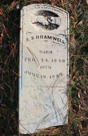 BRAMWELL, S. S. - Benton County, Arkansas | S. S. BRAMWELL - Arkansas Gravestone Photos
