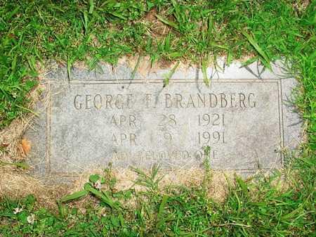 BRANDBERG, GEORGE F. - Benton County, Arkansas | GEORGE F. BRANDBERG - Arkansas Gravestone Photos