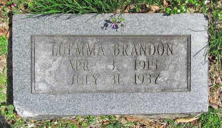 BRANDON, LUEMMA - Benton County, Arkansas   LUEMMA BRANDON - Arkansas Gravestone Photos