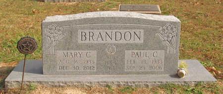 BRANDON, MARY CLARA - Benton County, Arkansas   MARY CLARA BRANDON - Arkansas Gravestone Photos