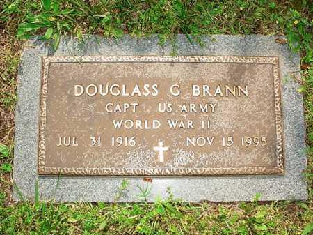 BRANN (VETERAN WWII), DOUGLASS G. - Benton County, Arkansas | DOUGLASS G. BRANN (VETERAN WWII) - Arkansas Gravestone Photos