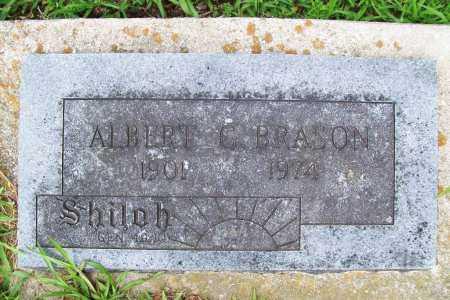 BRASON, ALBERT C. - Benton County, Arkansas   ALBERT C. BRASON - Arkansas Gravestone Photos