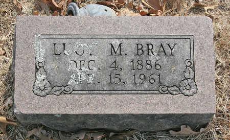 BRAY, LUCY M - Benton County, Arkansas   LUCY M BRAY - Arkansas Gravestone Photos