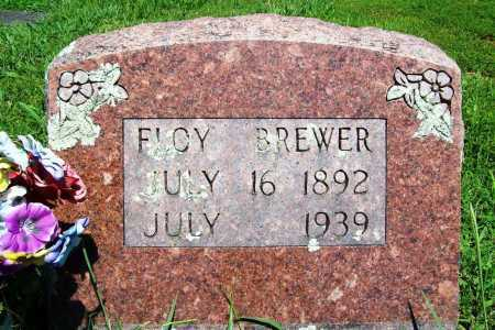 BREWER, FLOY - Benton County, Arkansas | FLOY BREWER - Arkansas Gravestone Photos
