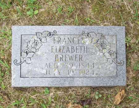 BREWER, FRANCES ELIZABETH - Benton County, Arkansas | FRANCES ELIZABETH BREWER - Arkansas Gravestone Photos