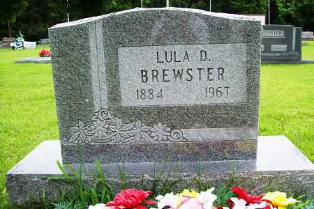 BREWSTER, LULA D. - Benton County, Arkansas   LULA D. BREWSTER - Arkansas Gravestone Photos