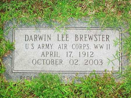 BREWSTER (VETERAN WWII), DARWIN LEE - Benton County, Arkansas | DARWIN LEE BREWSTER (VETERAN WWII) - Arkansas Gravestone Photos